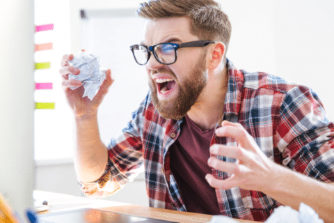 Como manter a calma no trabalho