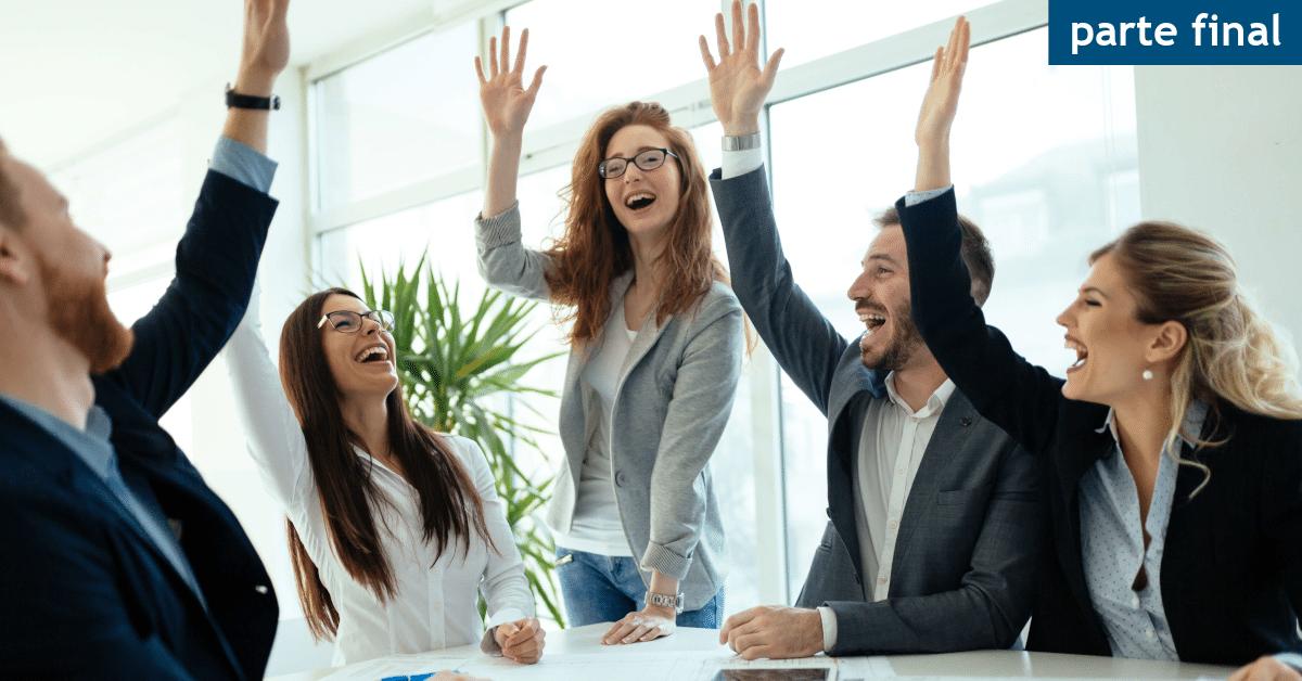 potencial para liderar pessoas