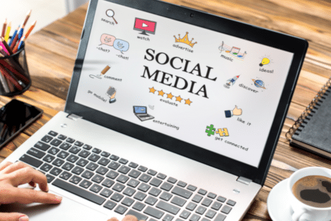 profissional social media
