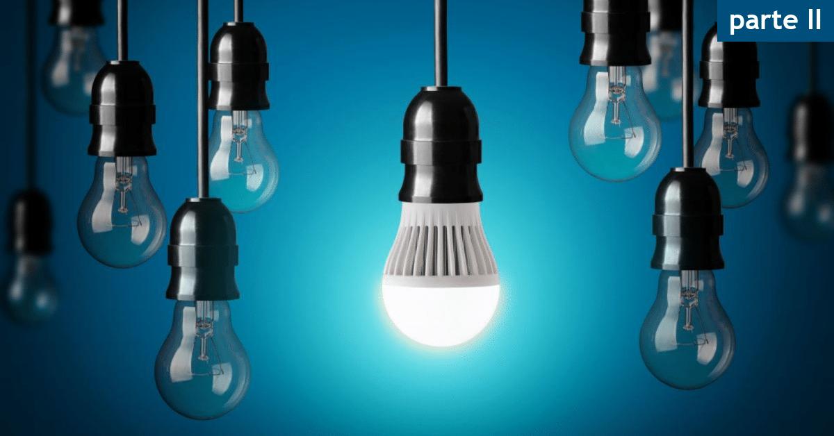 inteligência emocional lâmpada