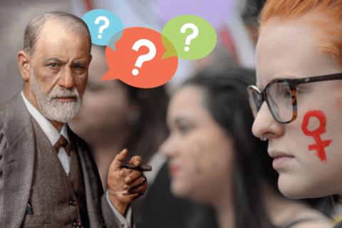 """E Freud disse: """"Afinal, o que as mulheres querem?"""""""